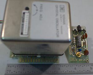 Agilent hp 10544a Crystal Oscillator 10 Mhz With Circuit Board