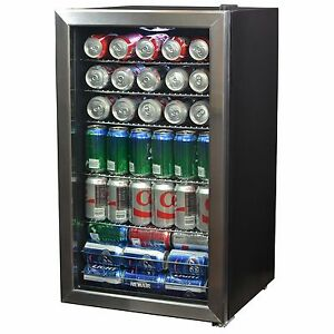 Beverage Center 6 7 Cu Ft Refrigerator Cooler Wine Beer Soda Kitchen Mini Fridge