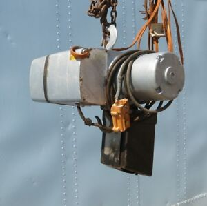 1 2 Ton Yale Electric Chain Hoist Good Cheap Baltimore Maryland
