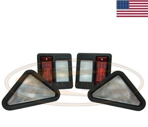 Bobcat Light Kit Lamp Assembly 873 Skid Steer Loader Head Tail Front Rear Tail