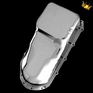 Oil Pan Pontiac For 326 350 400 428 455 Engines From 1959 1981 Chrome