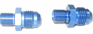 06 An Male Flare To 10mm X 1 0 Fits Holley Walbro Bosch Fuel Pumps Blue 2 Per Pk