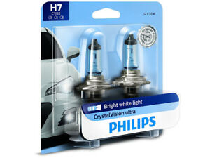 2x New Philips Crystal Vision H7 12972cvb2 Headlights Foglights Pack Of 2