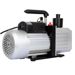 9 Cfm 250w Rotary Vane Vacuum Pump 3 4hp Hvac Air Refrigerant Conditioning A c