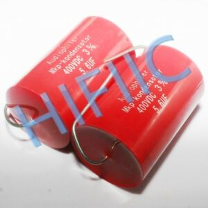 2pcs Audiophiler Mkp 5 6uf 400v 565 Coupling Capacitors