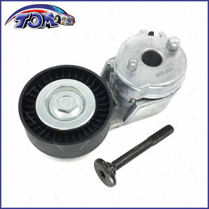 New Serpentine Belt Tensioner Pulley For Jeep Wrangler Grand Cherokee 4 0l