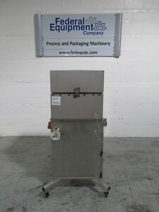 60 Sq Ft Donaldson Torit Dust Collector S s Model 60 Cabinet 48096