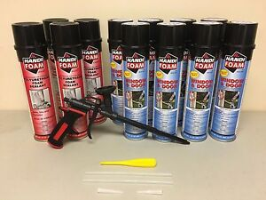 Handi Foam Low Expansion 8 Window Door 4 Gap 24oz Pro Gun Great Stuff