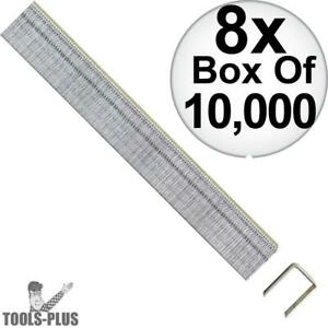 Porter cable Pus38g Box Of 10 000 3 8 X 3 8 22 Gauge Upholstery Staples 8x New