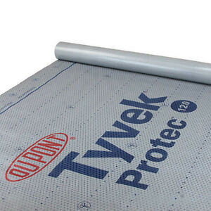 Tyvek Protec 120 Synthetic Roofing Underlayment By Dupont 4 X 250 1 Roll