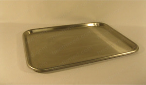 Instrument Tray Stainless Steel 3 4 X 13 3 4 X 19