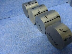 Lot Of 4 Titanium Round Bar Rod Ti 6al 4v Diameter 2 135 Grade 5 1 87 Kg