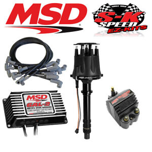 Msd 91503 Ignition Kit Digital 6al 2 Distributor Wires Coil Small Block Chevy