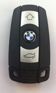 Bmw Smart Key Complete Replacment With Emergency Blade 1 3 5 Series X5 X6 Z4