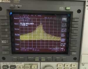 Hp 70952b Optical Spectrum Analyzer osa Hp 70004a Display
