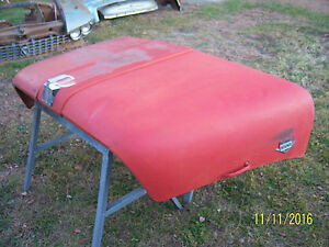 International Load Star Truck Hood Shop Awning Mid Century 50s 60s 1959 60 61 62