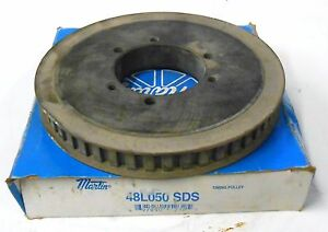 Martin 48l050 Sds Bushing Bore Timing Belt Pulley 48 Teeth 3 8 Pitch