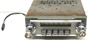 Vintage 1964 Galaxy Convertible Am Car Radio W Knobs Fomoco Oem 4tmf 67029