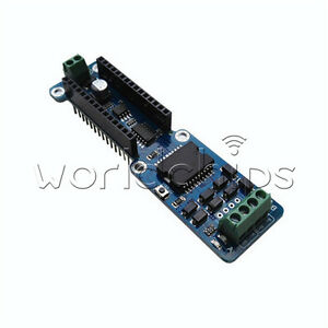 L298p Dc Stepper Motor Driver Shield Module For Arduino Nano 3 0 2a Dual Channel