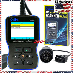 Creator C310 V6 1 Obdii Code Reader Scanner 20pin For Bmw Scan Tool Us Stock
