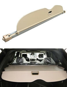 2011 2016 Jeep Grand Cherokee Oem Rear Trunk Cargo Cover Shade Privacy Beige