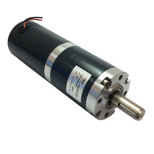 50mm Diameter 24vdc Low Speed 4rpm Dc Planetary Gear Motor With Planet Gear Box