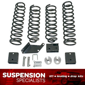 3 Front 3 Rear Lift Kit 2007 2018 Jeep Wrangler Jk Sport Rubicon coil Spring