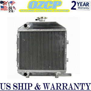 Sba310100211 Aluminum Radiator For Ford Tractor 1300 With Cap Ready Us Shipping