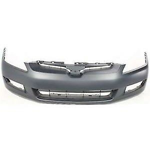 Honda Accord 2003 2005 Coupe Front Bumper Cover Ho1000212