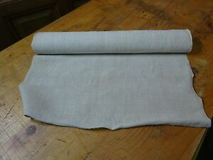 A Homespun Linen Hemp Flax Yardage 5 5 Yards X 21 Plain 8343