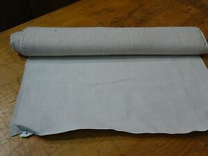 A Homespun Linen Hemp Flax Yardage 4 Yards X 20 Plain 8345