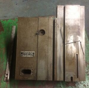 Hardinge Ac Chucker Saddle Dissassembled In Good Shape With Gib