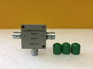 Mini circuits Zfm 11 1 To 2000 Mhz 35 Db Bnc f Coaxial Frequency Mixer New