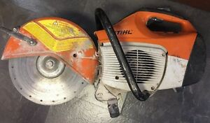 Stihl Ts410 12 Gas Concrete Cut off Saw With Water Line Ts 410