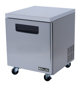Stainless Steel Under counter Freezer 27 X 30