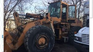 Case 921 Wheel Loader Parts Machine
