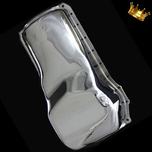 Chrome 351 Cleveland Ford Oil Pan Fits 351c 351m And 400m Passenger Car Engines