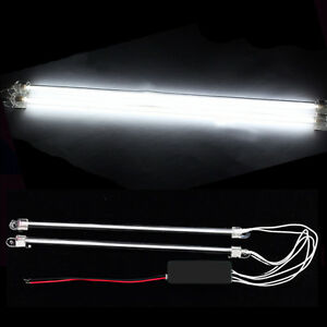 2pcs 12 Car White Undercar Underbody Neon Kit Lights Ccfl Cold Cathode Tube