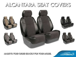 Coverking Alcantara Suede Custom Tailored Front Seat Covers For Dodge Charger