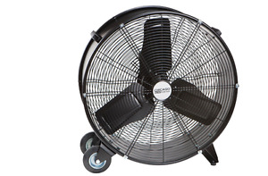 24 In High Velocity Shop Fan Garage Ventilation Drying Floor Auto Commercial