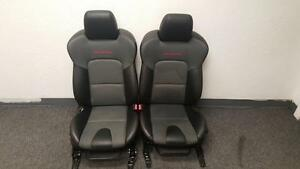 2007 2008 2009 Mazda 3 Mazdaspeed Racing Front Leather Cloth Front Bucket Seats