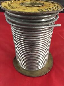 New York Wire Solder 40 60 Vintage 3 Lbs 9 Ounces Old