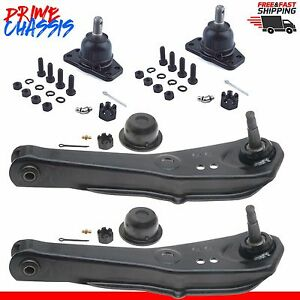2 Lower Control Arm 2 Upper Ball Joint Falcon Mustang 65 66 Comet Ranchero 62 65