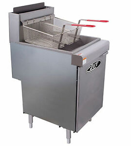 Commercial 70lb Floor Deep Fryer 5 Tube 150 000btu hr Lp Gas Jet Jff5 70l