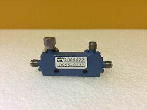 Mac Technology Hp 0955 0133 2 To 8 Ghz Sma f Directional Coupler Tested