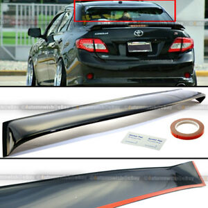 For 08 09 10 11 Toyota Corolla Rear Window Roof Visor Spoiler