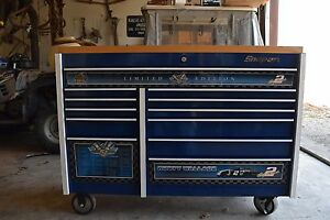 Snap on Rusty Wallace 50 Career Victory Collectible Rolling Toolbox