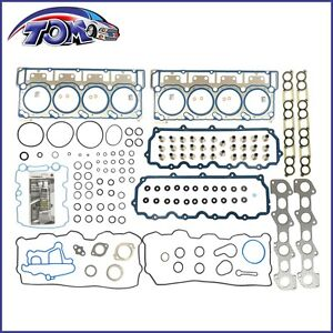 New Head Gasket Set 20mm Dowels For 03 10 Ford 6 0 E350 F250 F350 Diesel Turbo