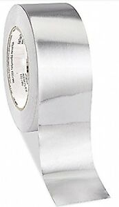 Hydrofarm Aluminum Duct Tape Heavy duty Heat resistant Easy cut Silver 120 yd