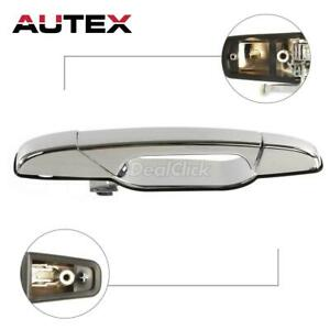 Chrome Outer Front Passenger Side Door Handle For 2007 2013 Cadillac Escalade